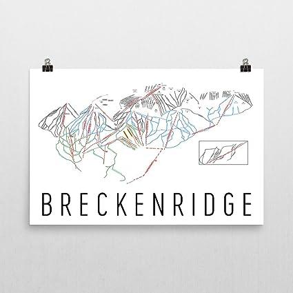 Amazon.com: Breckenridge Poster, Breckenridge Ski Resort Poster ...