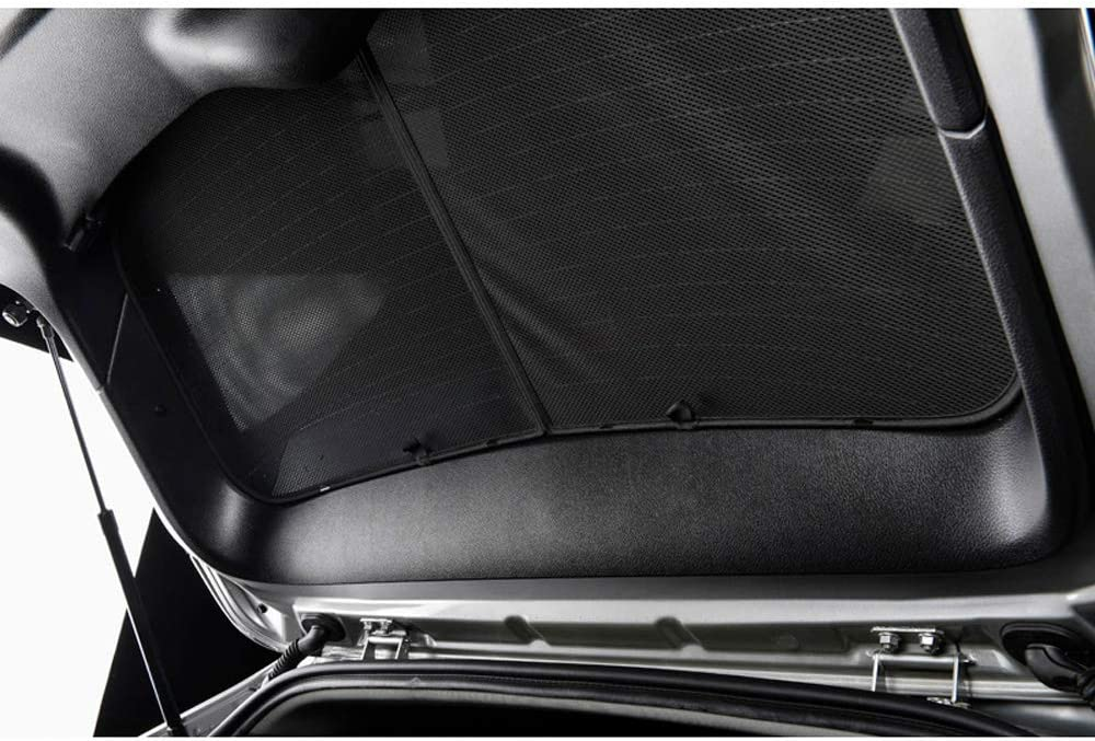 Car Shades POR-CAYE-5-B Set Porsche Cayenne 2011-2017 Black