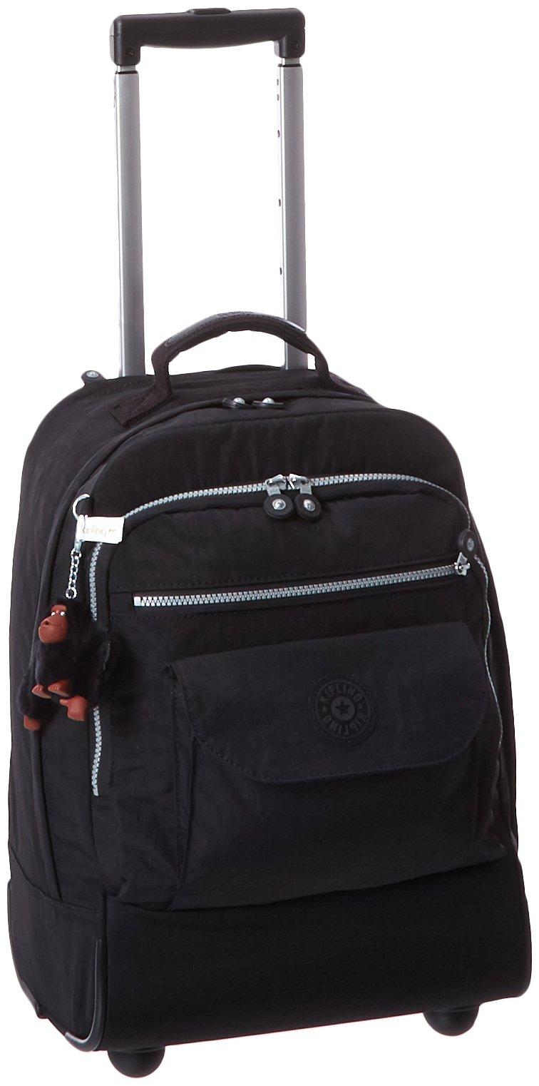 Kipling Luggage Sanaa Wheeled Backpack, Black, One Size by Kipling