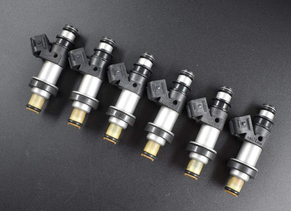 6x Fuel Injector Fit For 2001-04 Honda Odyssey Pilot MDX3.5L Acura CL TL 3.2L V6
