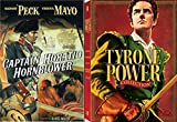 Tyrone Power Collection & Captain Horatio Hornblower - (Blood and Sand / Son of Fury / The Black Rose / Prince of Foxes / The Captain from Castile) Legends DVD Set