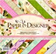 Pattern Design Printed Papers for Art n Craft, Size: 8x 8 Inch, 20 Unique- Set of 40