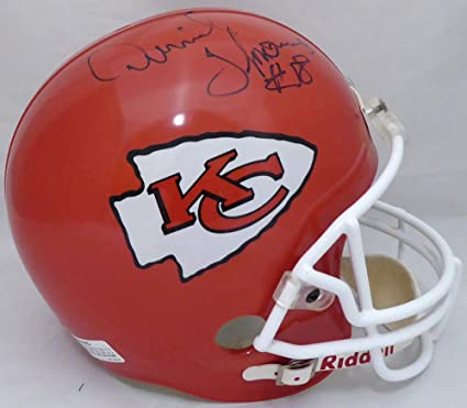 18328dcc Amazon.com: Derrick Thomas Autographed Kansas City Chiefs Full Size ...