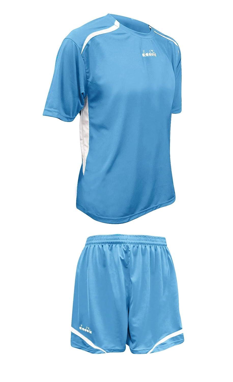 Amazon.com  Diadora Stadio women s soccer uniform jersey shorts kit ... eac6ce732f