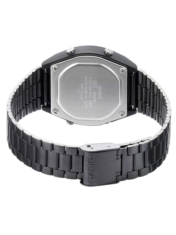 07944f67c01b RELOJ CASIO DIGITAL NEGRO Reloj hombre B640WB-1BEF  Casio  Amazon.com.mx   Relojes