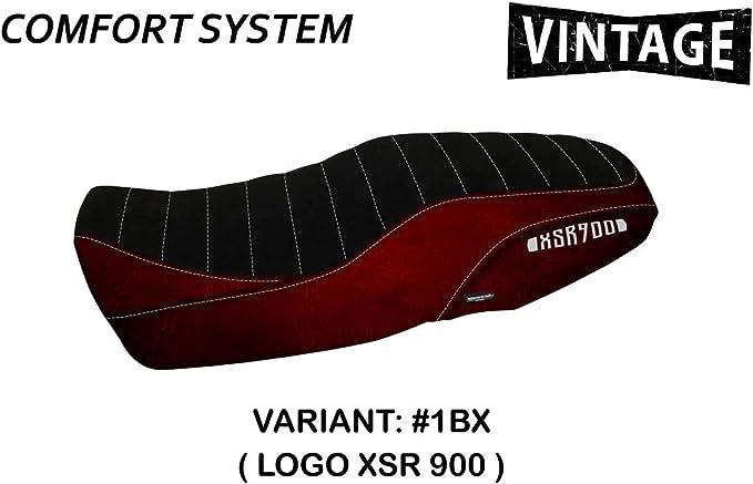 Sattelbezug Für Yamaha Xsr 900 Mod Comfort System Tappezzeria Italia Bordeaux Auto