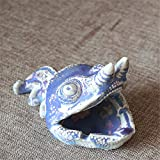 Ceramic ashtray creative personality lizard modeling household items jewelry ornaments, B