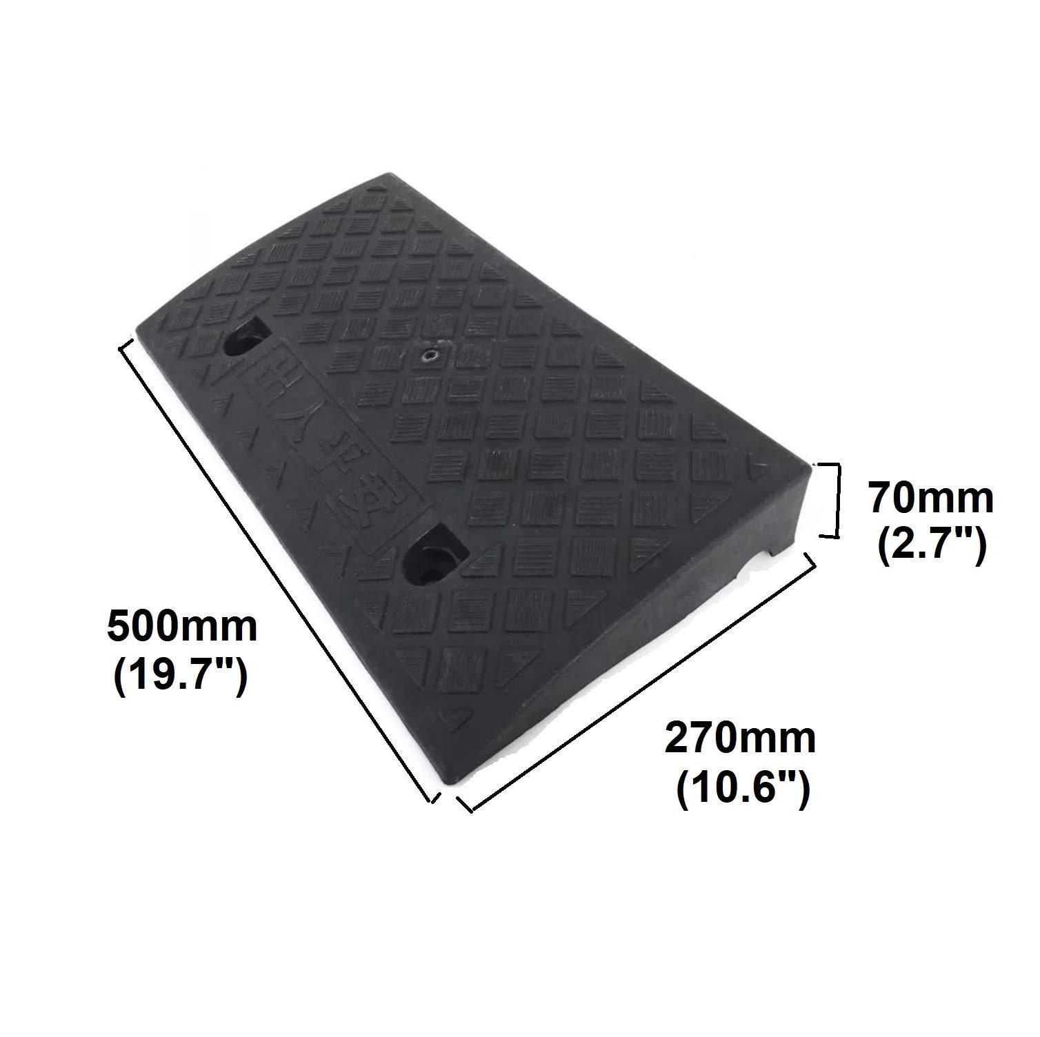 PanJa Portable PVC Threshold Ramp for Kerbs (3'') by PanJa