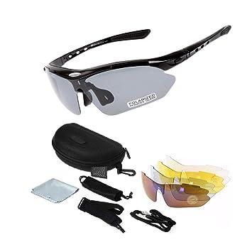 Amazon.com: Deportes Photochromic vidrios polarizados ...