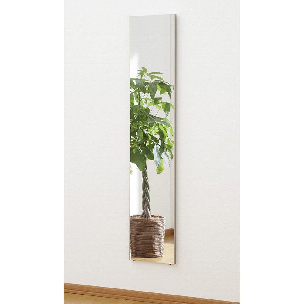 割れない鏡 ミラー 細枠フレーム 全身 姿見 軽量 日本製 幅30 高さ150 シャンパンゴールド B073W79RVW 幅30×高さ150cm|シャンパンゴールド シャンパンゴールド 幅30×高さ150cm