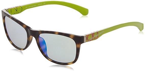 Calvin Klein Jeans Herren Sonnenbrille Wayfarer Eye Braun