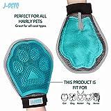 Pet Grooming Glove 3-in-1 | Gently Removes Loos