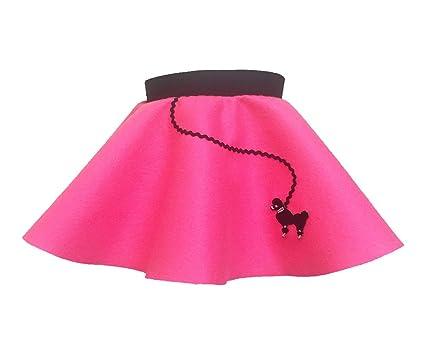 Hip Hop 50s Shop Baby And Toddler Poodle Skirt Hot Pink