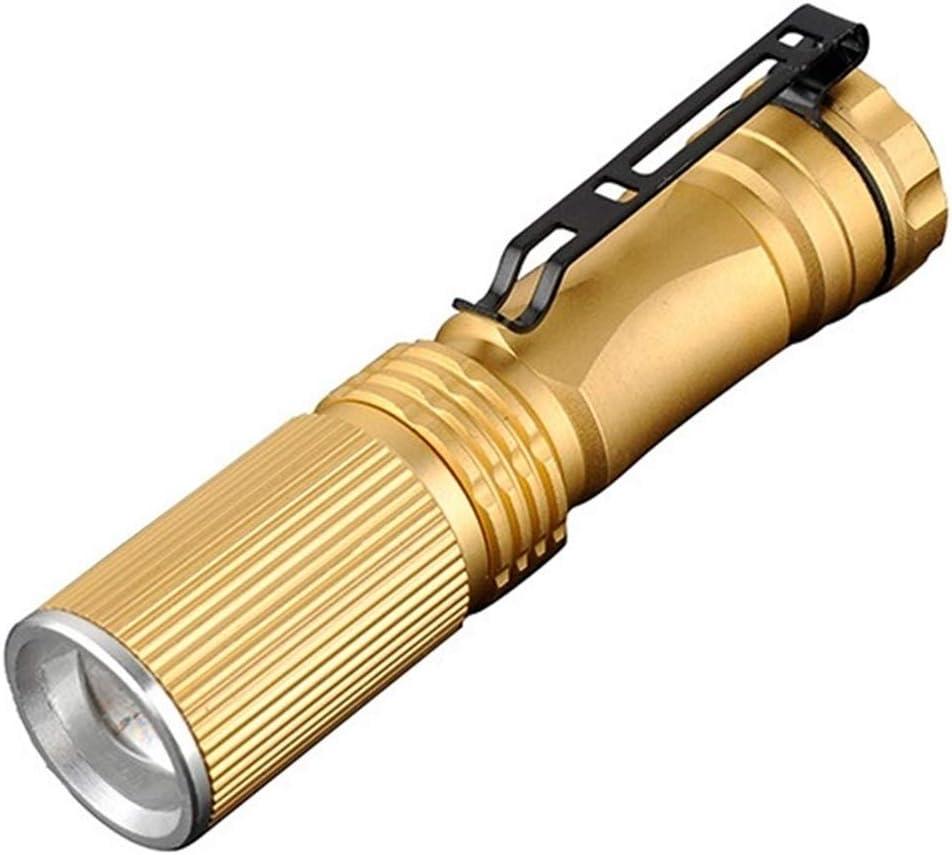 3 X Zoomable Cree 2000Lumen Mini LED Flashlight Torch Light Lamp