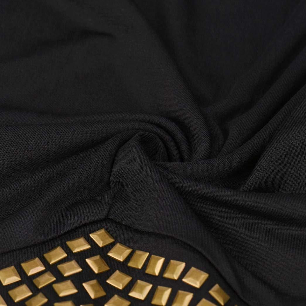 Huixin Camicetta Maniche Lunghe con Scollo Av Manica Lunga da Donna Manica Costume Lunga da 2018 Camicetta Maniche Lunghe da Donna Elegante