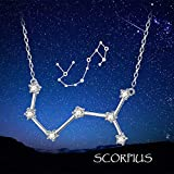 Constellation Necklace 925 Sterling Silver CZ