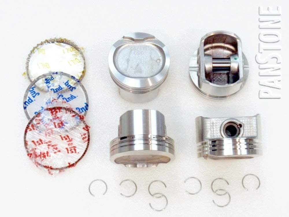 .020//.50mm 1.8L Corolla Celica MR2 Matrix Vibe Prizm 1ZZFE Upgraded Piston//Premium Ring Kit for 98