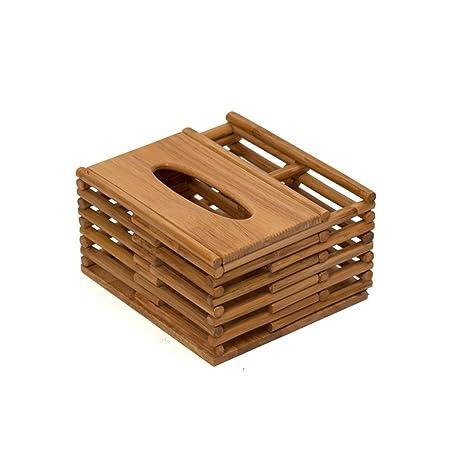 Yang baby Cajas de tejido multifuncional de ratán, cajas de almacenamiento, cajas de cartón de bombeo: Amazon.es: Hogar