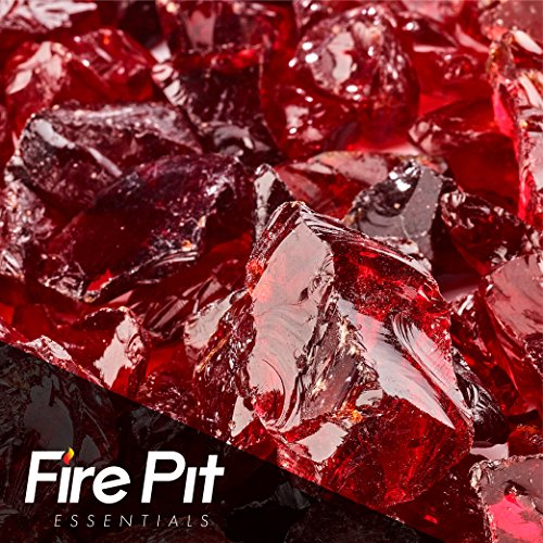 Marlboro Red Crushed Fire Glass 1/2