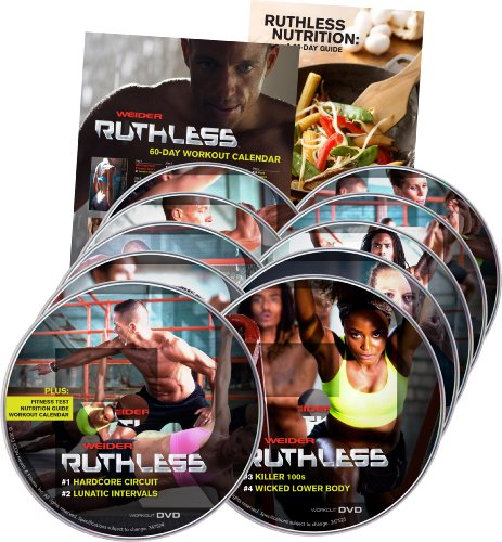 Weider Ruthless DVD Kit by Weider