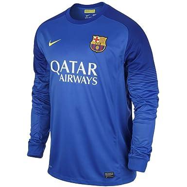 Nike Barcelona F.C. - Camiseta de fútbol portero, 2ª equipación, 2013-14