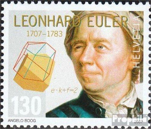 compl/ète.Edition. 2007 Leonhard Euler Timbres pour Les collectionneurs Suisse 1998
