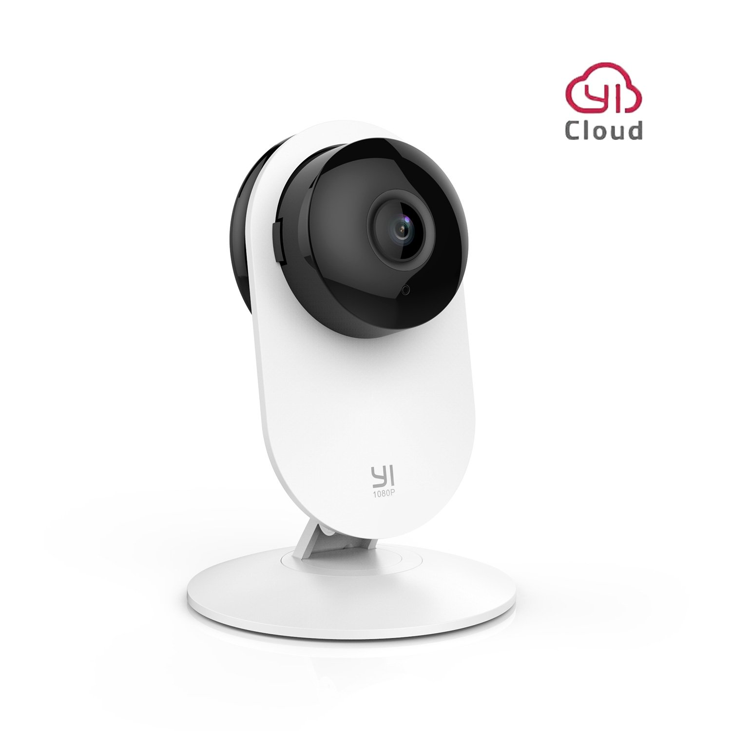 YI 1080P Wireless Home Camera Security Surveillance Cam WiFi IP Camera with Night Vision Motion Detection Baby Crying Alert Live Camera - Cloud Service Available