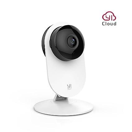 YI Cámara de Vigilancia Interior 1080P Domo Cámara IP Seguridad WiFi Monitor de Bebé Mascota HD