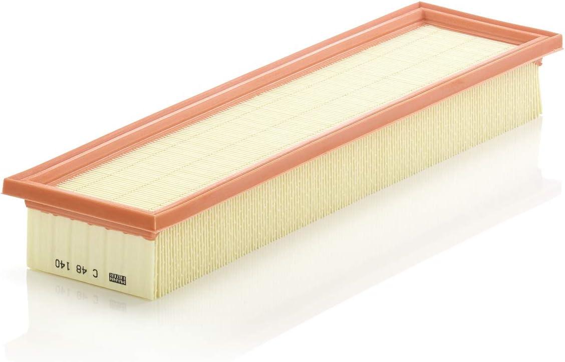 Original Mann Filter C 48 140 Innenraumfilter Für Industrie Land Und Baumaschinen Auto