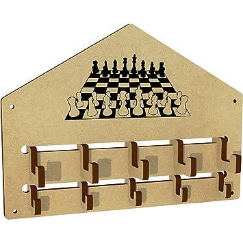Azeeda Tablero de ajedrez y Piezas Ganchos de la Capa ...