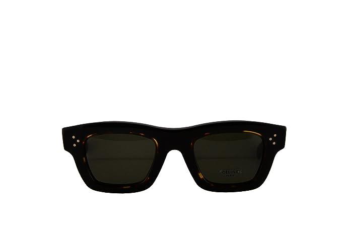 Amazon.com: Celine cl41396/S anteojos de sol Negro Havana W ...
