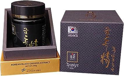 Amazon.com: Korean Black Ginseng Extract, Premium Quality, Made in Korea,  240 gram: Health & Personal Care