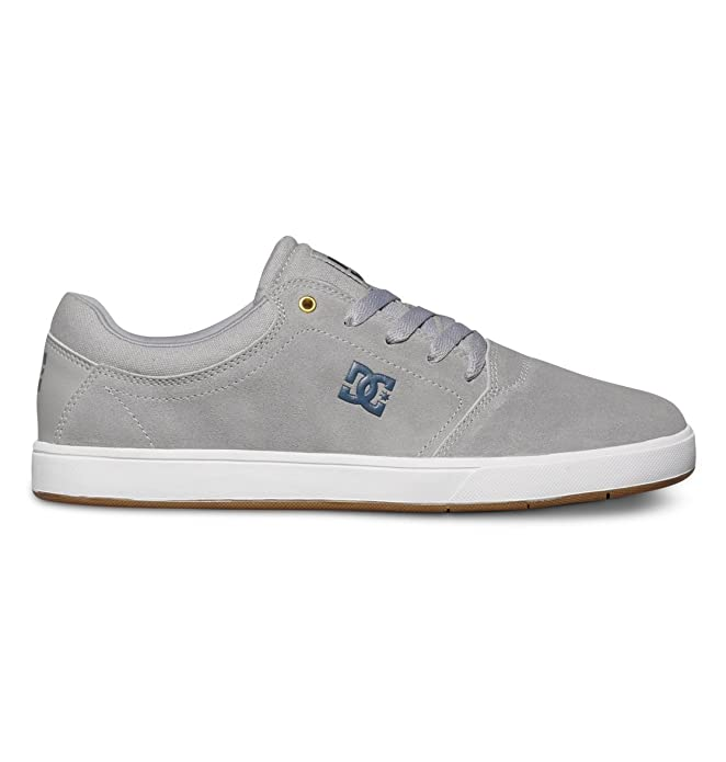 DC Shoes Crisis Sneakers Skateboardschuhe Herren Erwachsene Grau (Grey)