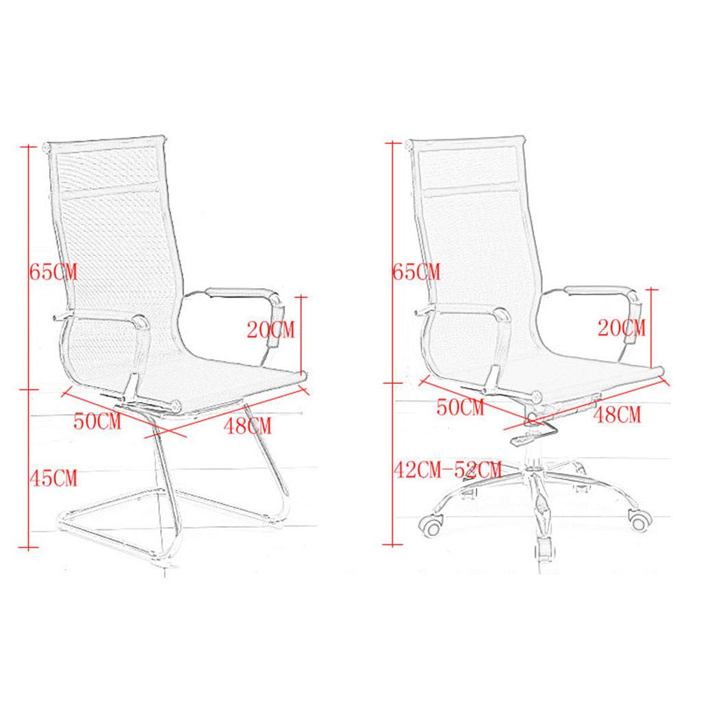 WONdere High-End Computer Chair Office Chair Reclining Home Massage Chair Lift Massage Chair Desk seat (C) by WONdere (Image #3)