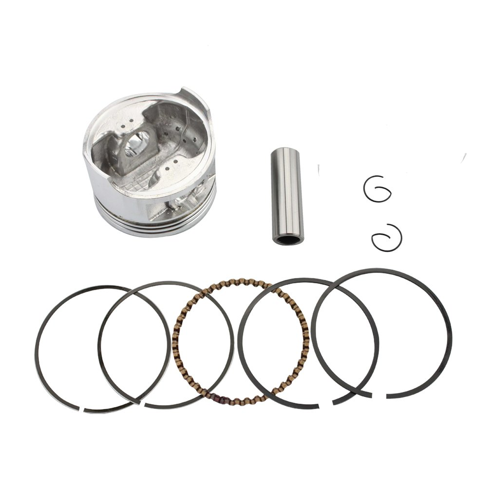 GOOFIT 63.5mm Piston Assembly Kit for CG 200cc Vertical Engine ATV Scooter Moped K082-022