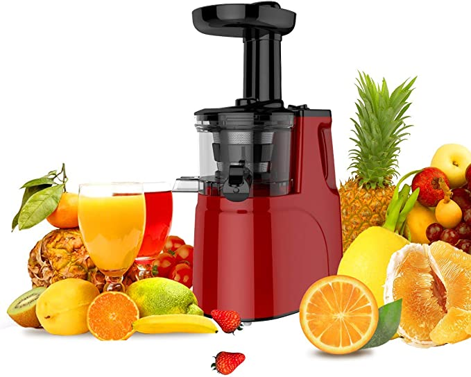 JAP Appliances SJ6188 - Extractor de zumo tipo slow juicer ...