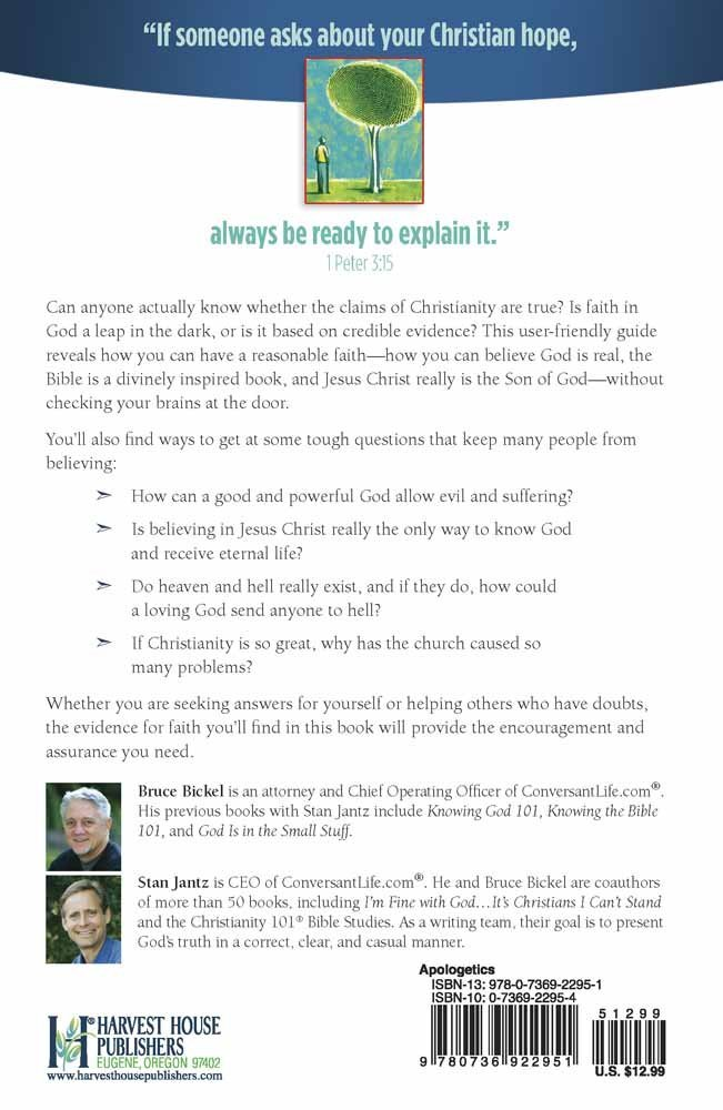 Evidence for Faith 101: Understanding Apologetics in Plain Language (Christianity 101®) by Harvest House Publishers