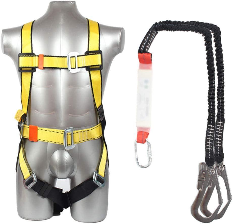 TYI Kit de protección contra caídas de arnés de Seguridad, con ...