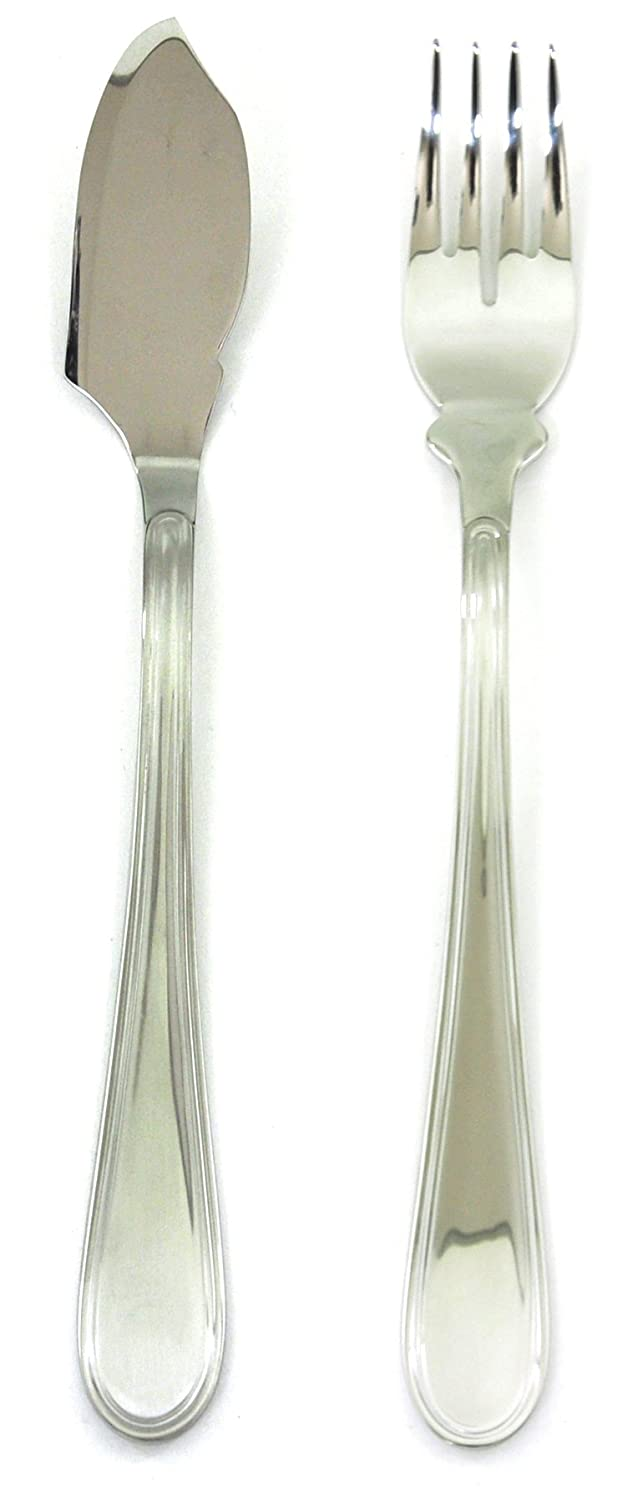 Mepra Norma Fish Set, Set of 24, Silver 101022021