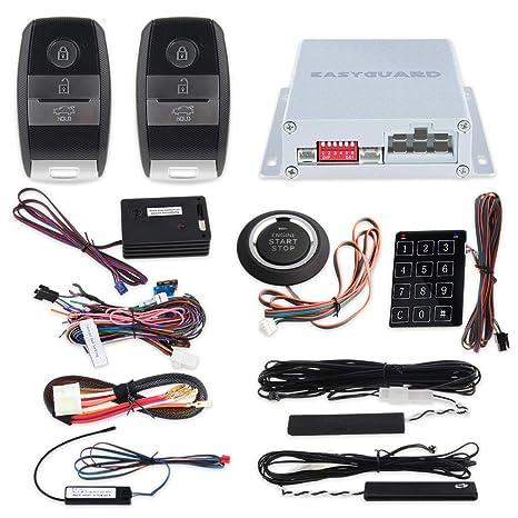 EASYGUARD EC002-K2-NS Sistema de alarma de automóvil bloqueo ...