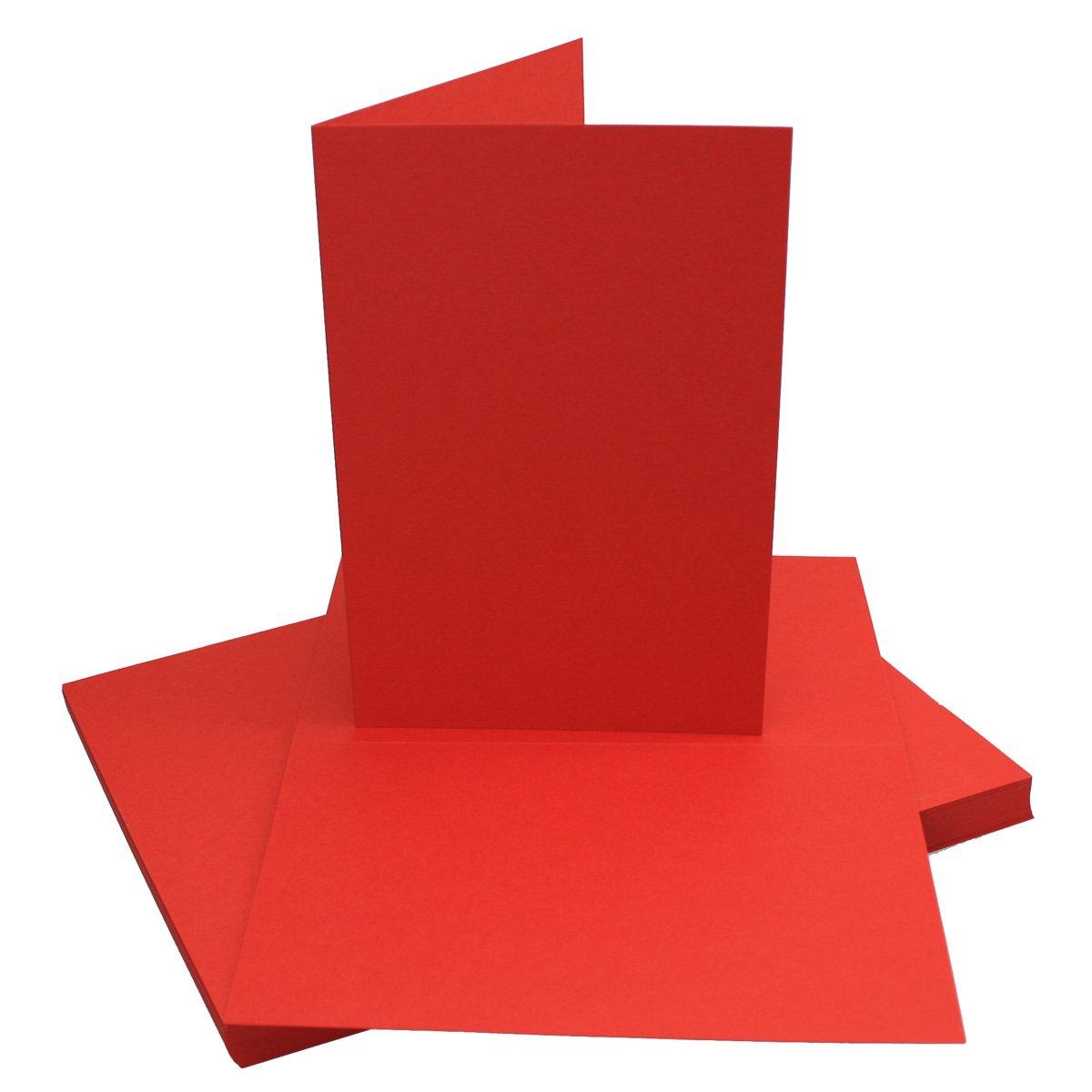 250x Falt-Karten DIN A6 Blanko Doppel-Karten in Hochweiß Kristallweiß -10,5 x 14,8 cm   Premium Qualität   FarbenFroh® B078W5DFB6 | Deutschland Shops