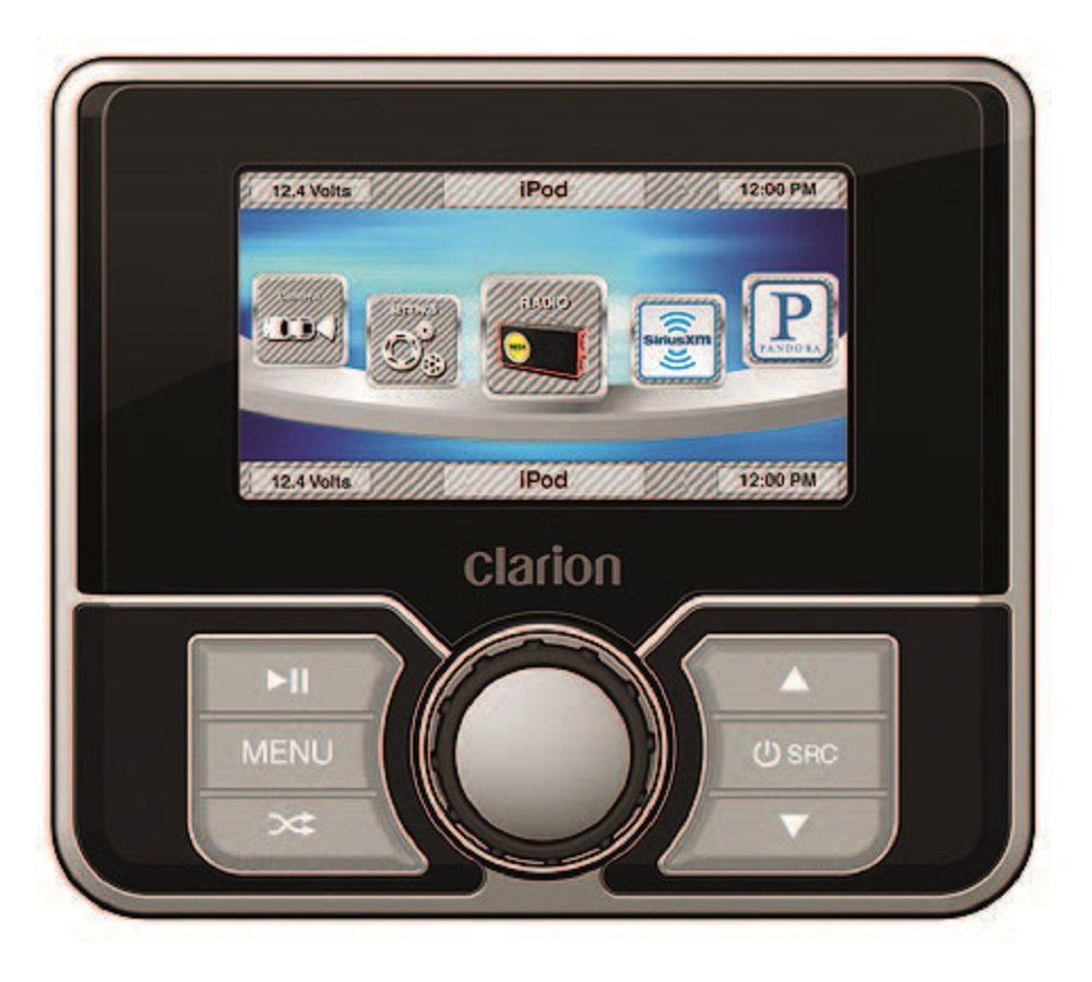 Clarion MW4 Marine 3-Inch Color LCD Remote