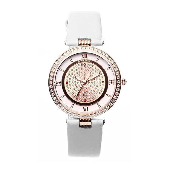 Moda de diamantes de imitación reloj/Ultrafino reloj/Relojes resistente al agua ocasional-B: Amazon.es: Relojes