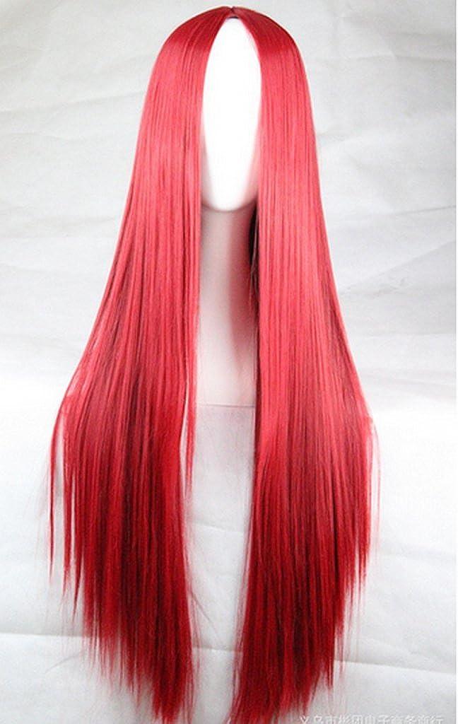 Becca Wig 75/cm largo pelo resistente al calor recta cosplay peluca