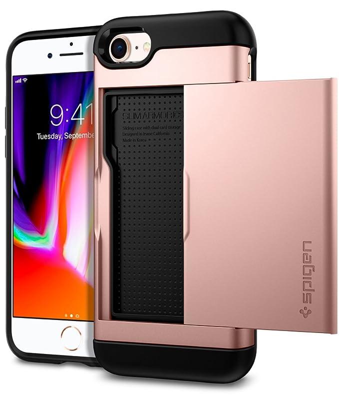 018e5e02d Amazon.com: Spigen Slim Armor CS Designed for Apple iPhone 8 Case (2017) /  Designed for iPhone 7 Case (2016) - Rose Gold: Cell Phones & Accessories