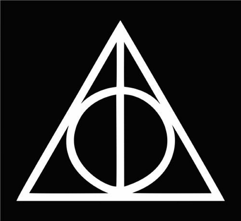 KEEN Reliquias de la Muerte Harry Potter Die Cut Vinilo Coche ...