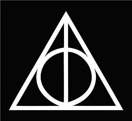 Amazon Deathly Hallows Harry Potter Die Cut Vinyl Car Decal