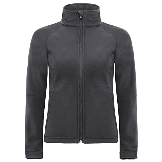 Hooded Grey Jacket Womens amp;c S B Collection Dark Softshell B630f P8ICnq