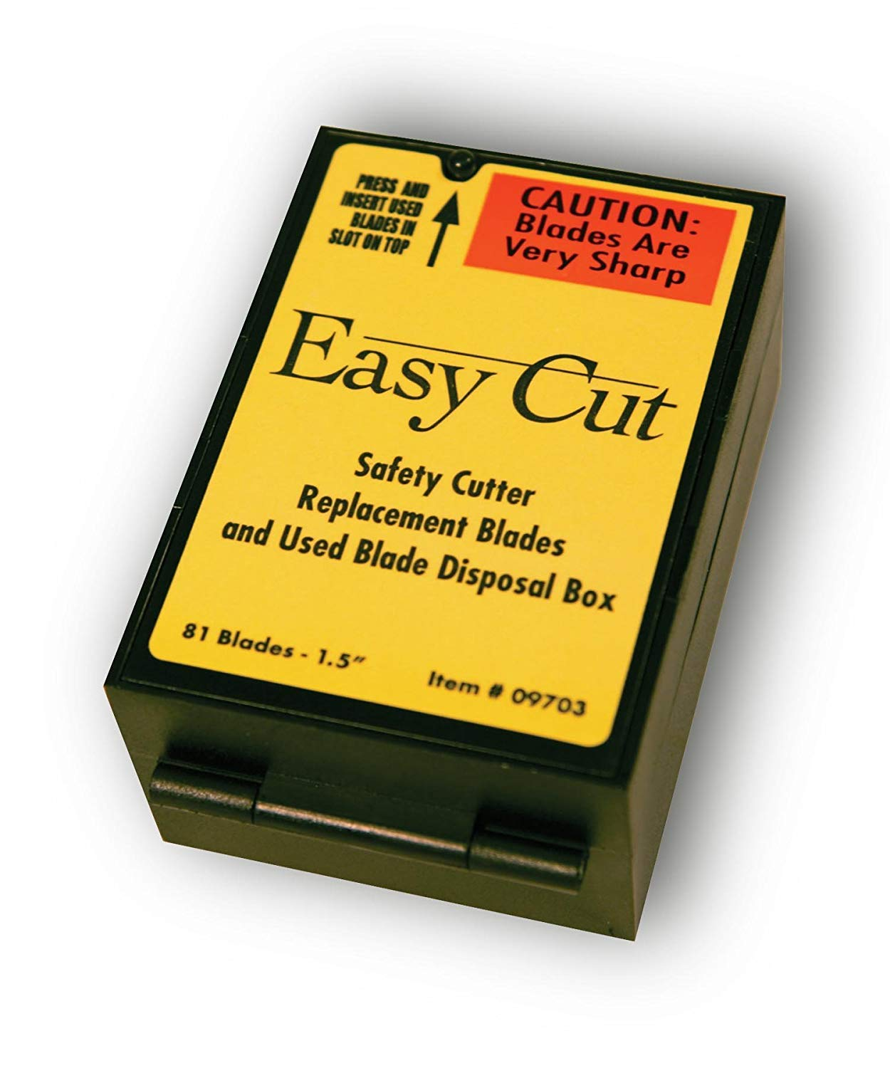 81 Easy Cut/EZ Cutter Replacement Blades 09703 STD Blades Box by Easy Cut