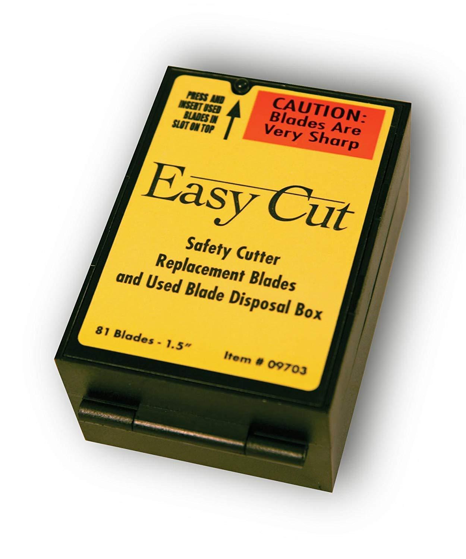 81 Easy Cut/EZ Cutter Replacement Blades 09703 STD Blades Box